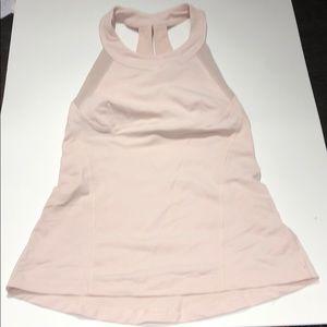 Lululemon light pink workout tank